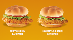 (screen shot from Wendys.com)