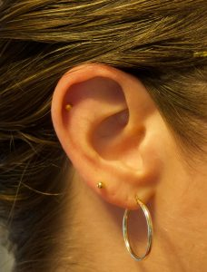 Cartilage Piercing One Year Update Swistle